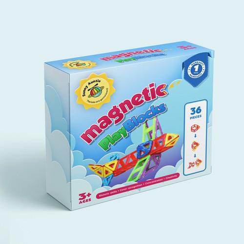 Magnetic Play Blocks