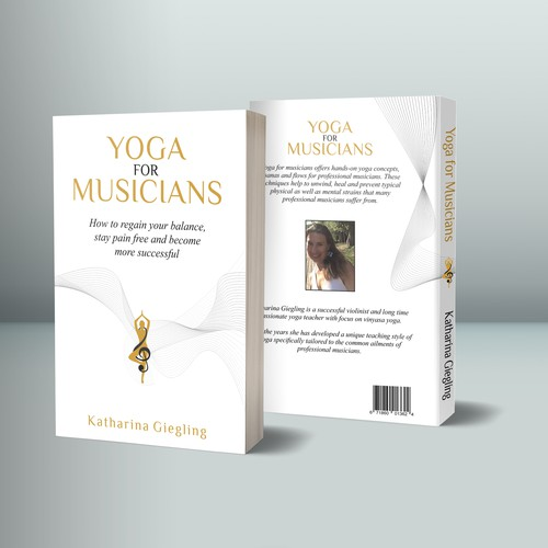 Cover design yoga for music