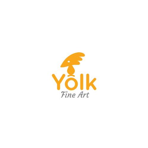 Logo for Yolk fine art
