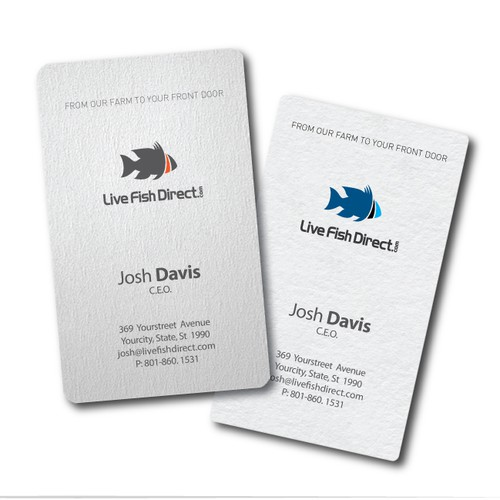 Help LiveFishDirect.com with a new logo