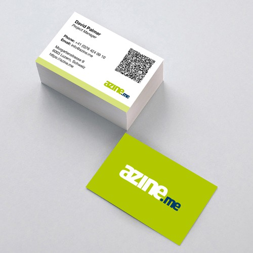 Azine business card