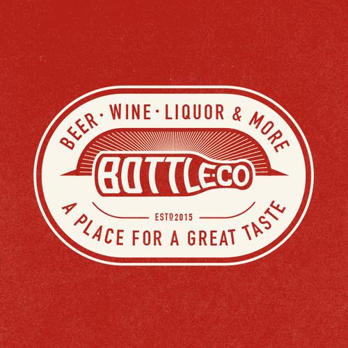 Classic logo for Liquor Retailer