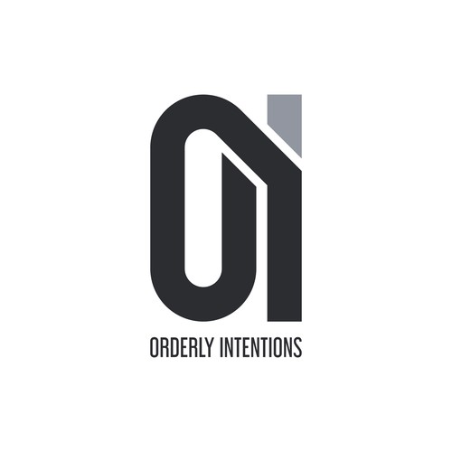 Logo concept for orderly intentions