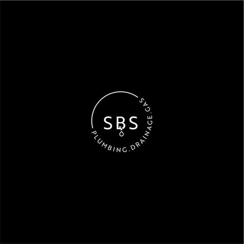 Plumbing logo design for sbs