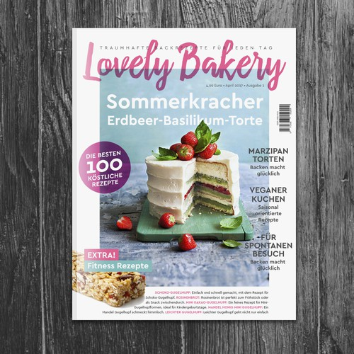 Bakery Magzine cover design