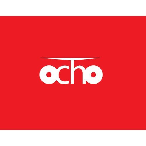 Mobile Video App Logo - ocho