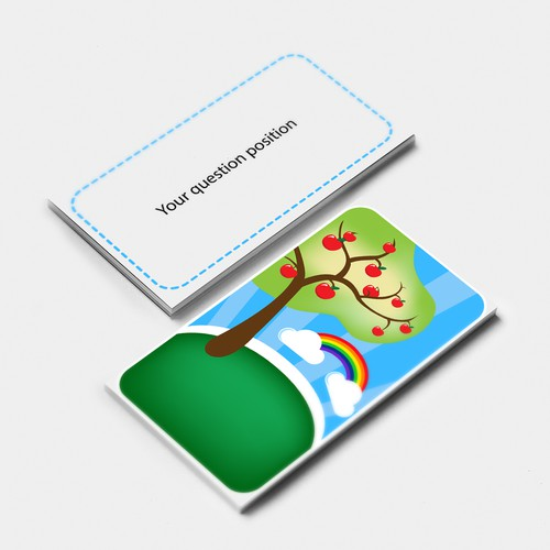 Design a Colorful Deck of Cards for Tweens w/ Anxiety