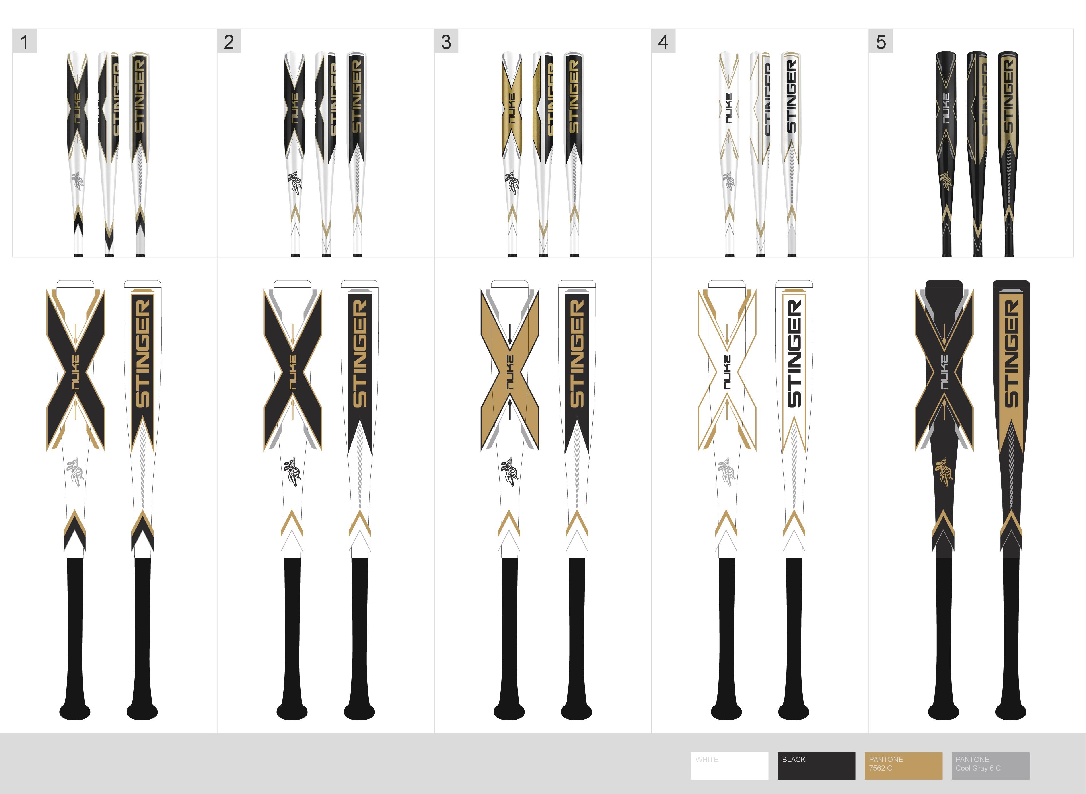 Design Sleek Baseball Bat Graphics for new product