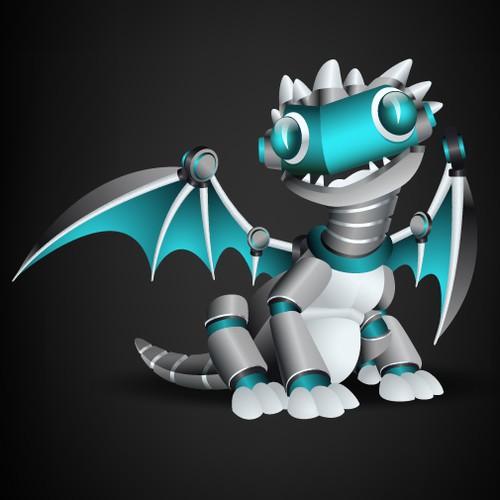 Mechanical Dragon Logo