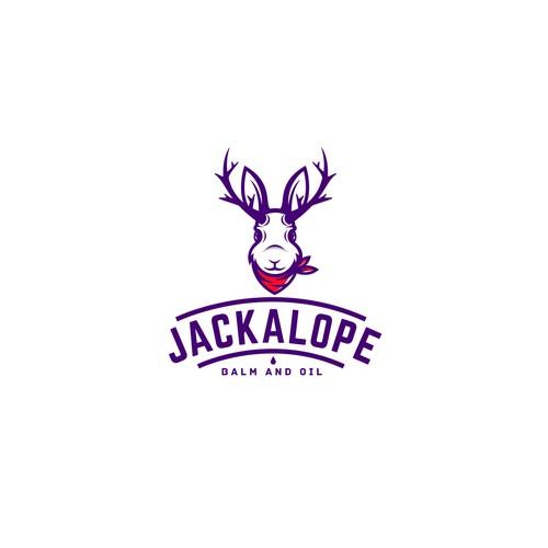 """Logo design for """"JACKALOPE""""."""