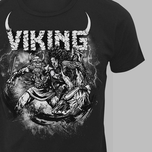 New t-shirt design wanted for VIKING