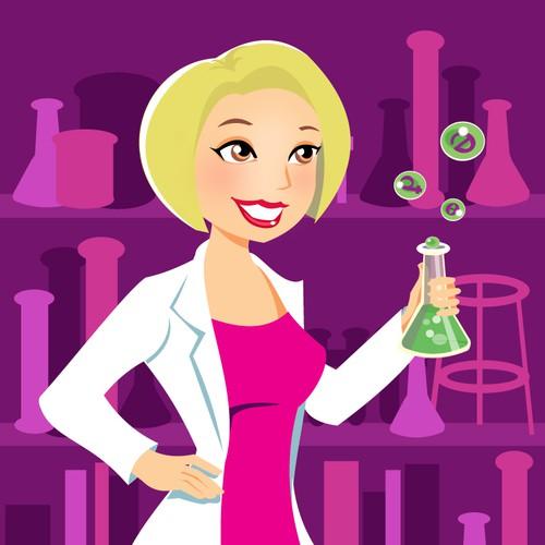 Sexy Scientist Illustration needed!