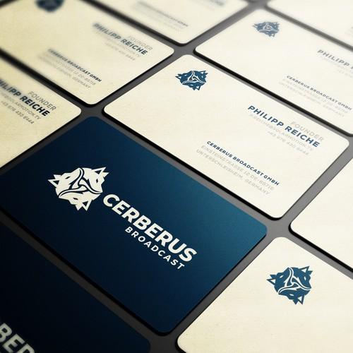 Cerberus Broadcast Logo Design