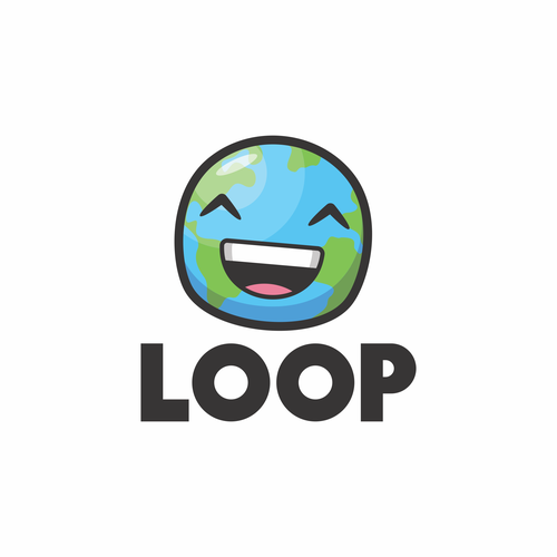 Fun and playful logo concept for LOOP