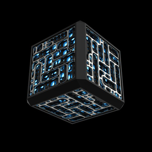 Futuristic Power Cube.