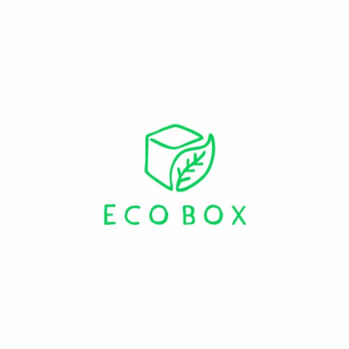 Hand Made Logo Concept for Eco Box