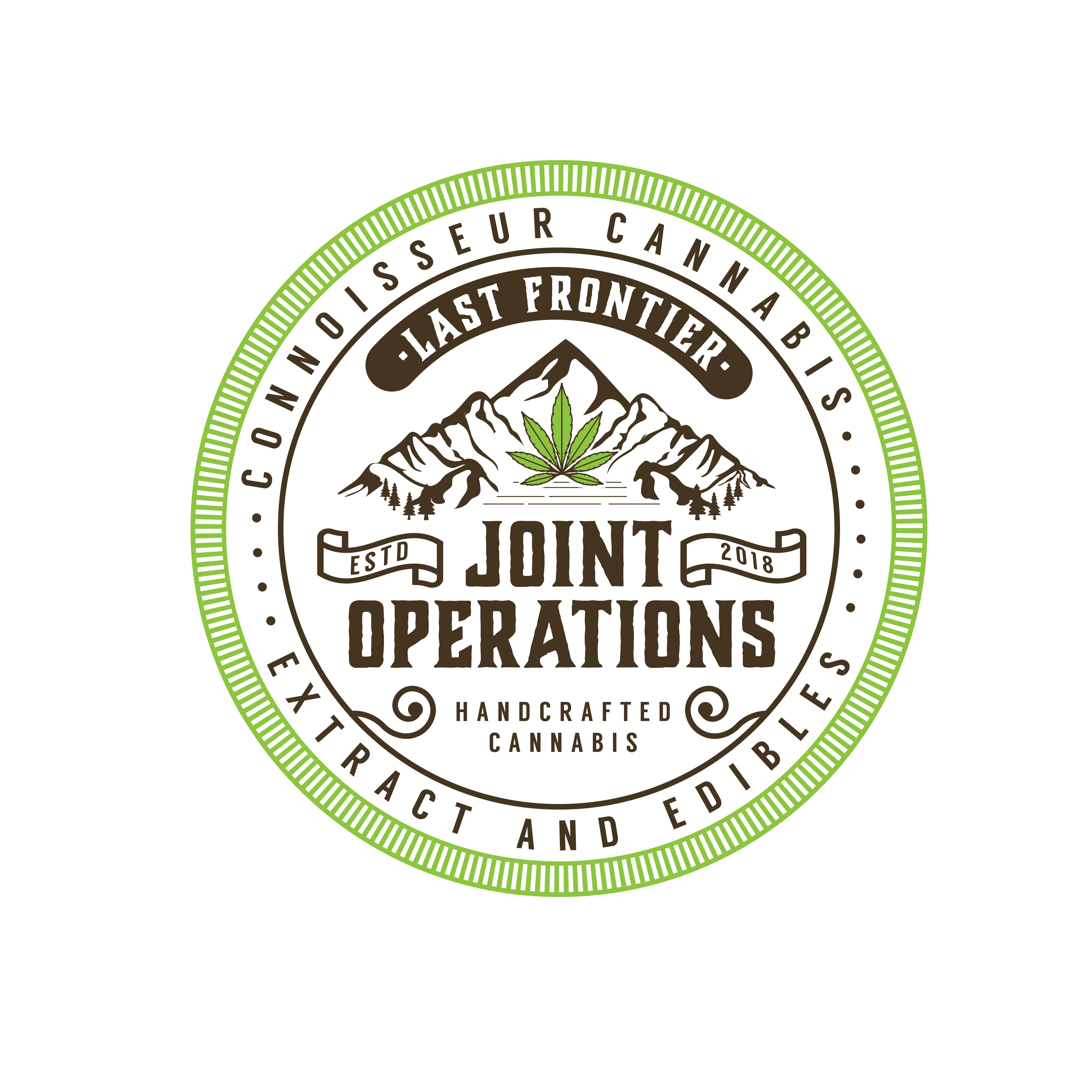 Cannabis Grower needs a Fun Professional product label that is unique to their industry & location