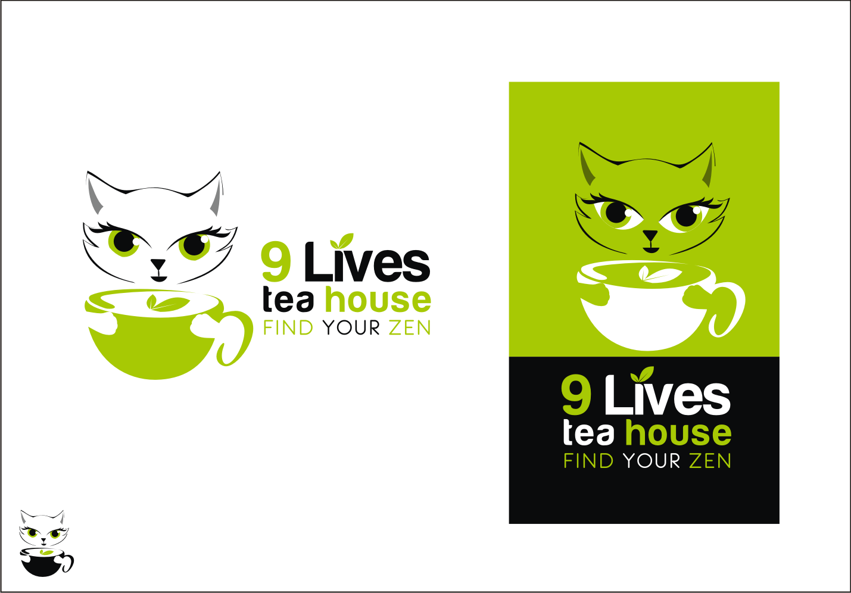 logo for 9 Lives Tea House