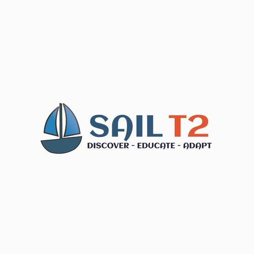 Logo for sailing boat