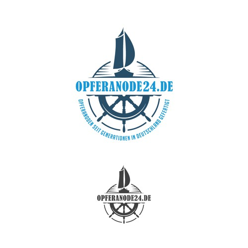 Contemporary logo for Maritime company