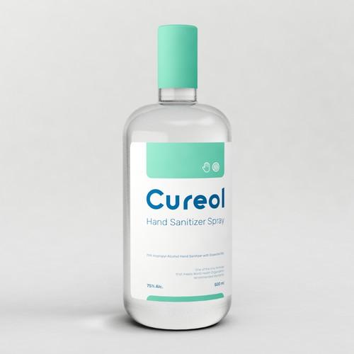 3d concept product label
