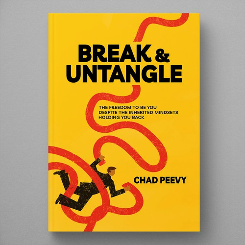 Book cover design - Break & Untangle