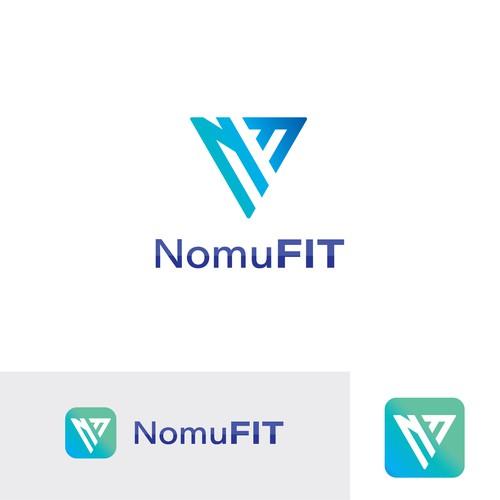 Elegant Logo Design For NomuFIT