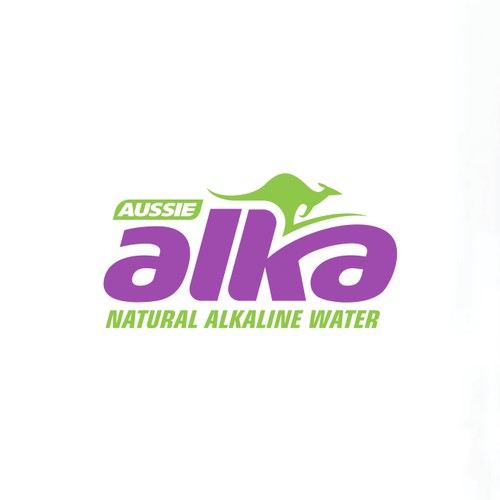 International bottled water brand logo
