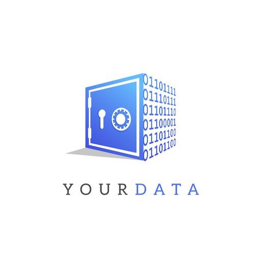 Logo for a Data saver