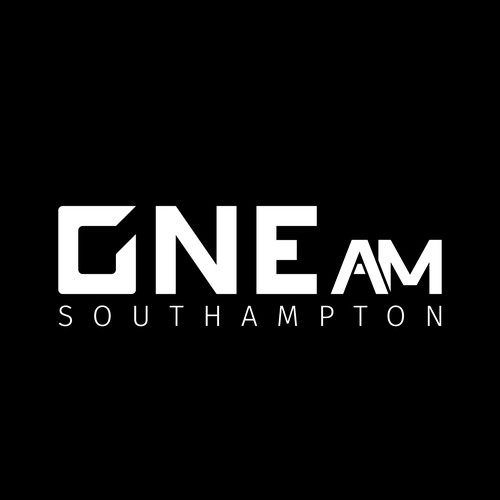 Bold Negative Space Logo Design for Southampton Nightclub