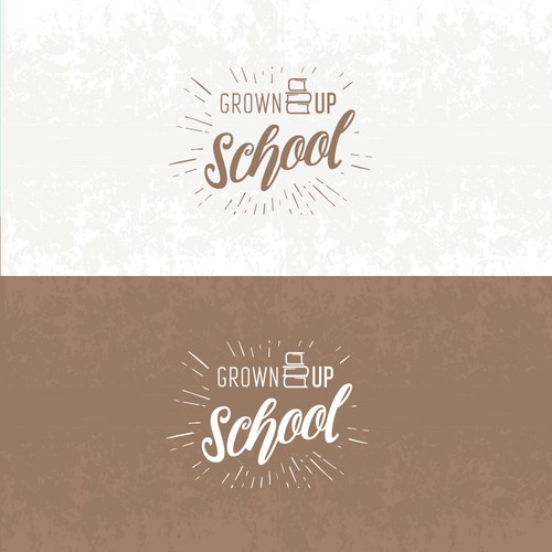 Logo for Grown up school