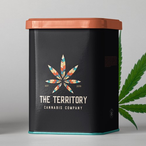 The Territory Cannabis Company logo design