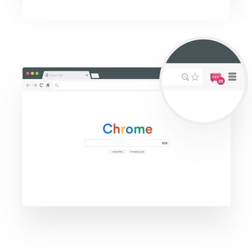 Chrome extension icon design