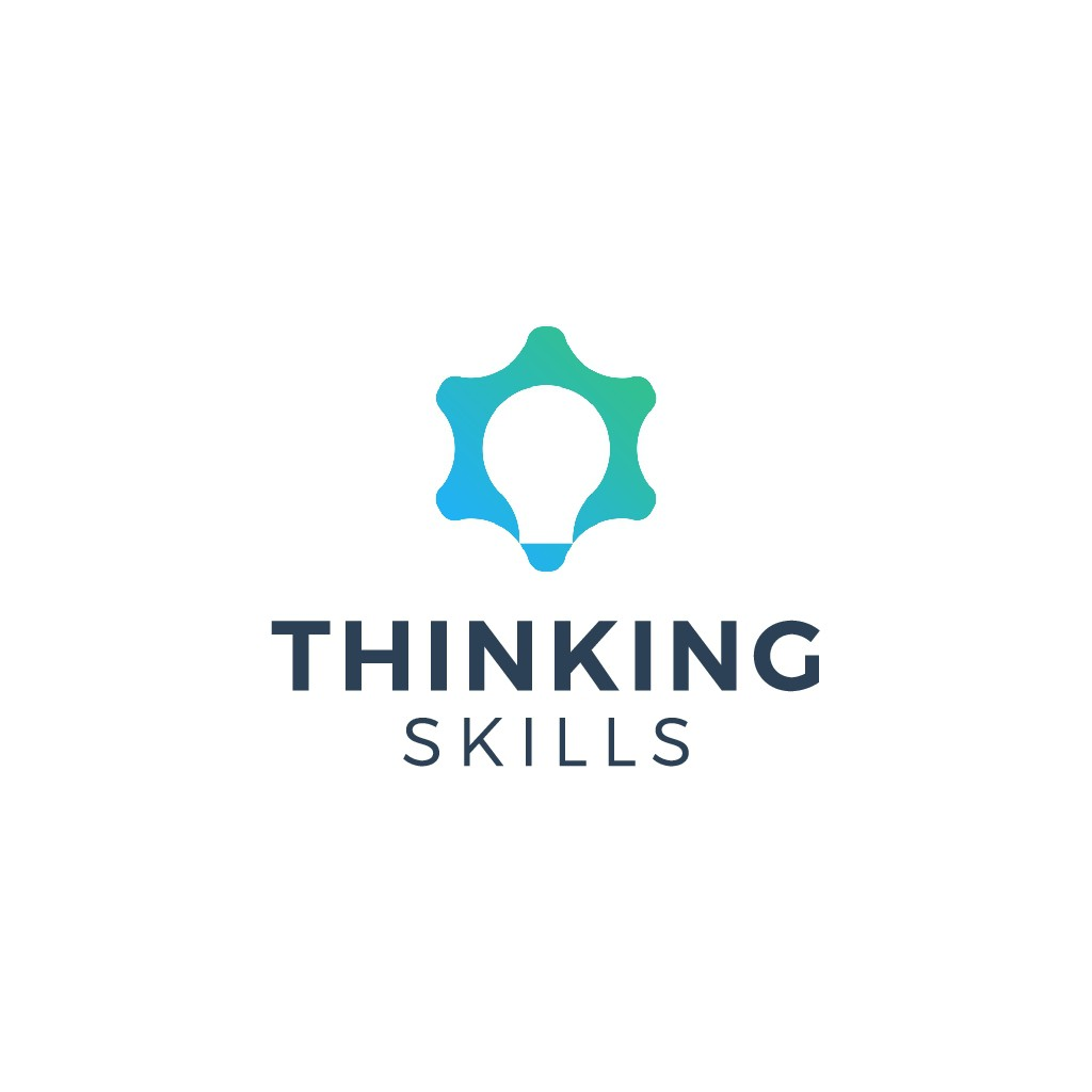 Design a simple but powerful logo to ignite critical thinking training.