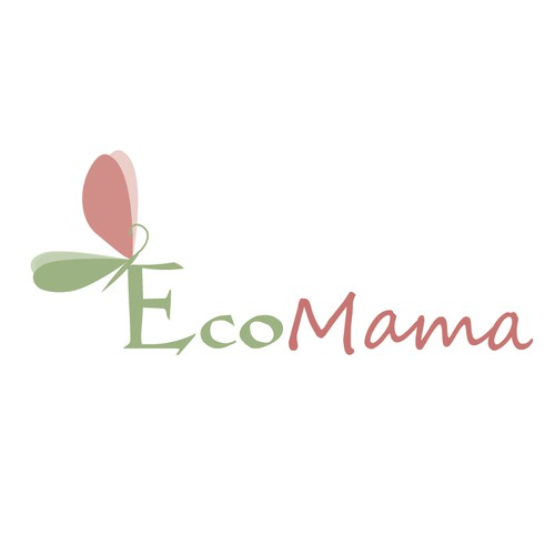 Create a gorgeous and organic inspired logo for online retail mother and baby store EcoMama.
