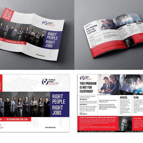Stand-out brochure needed for a people-centric consulting firm!