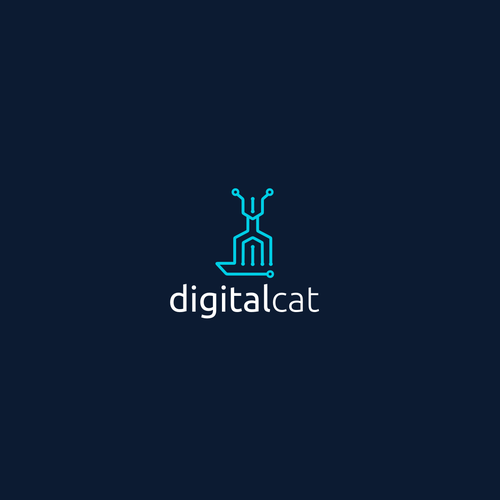 "Design for ""Digital Cat"""