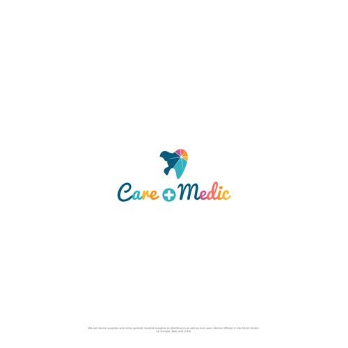 Care + Medic logo