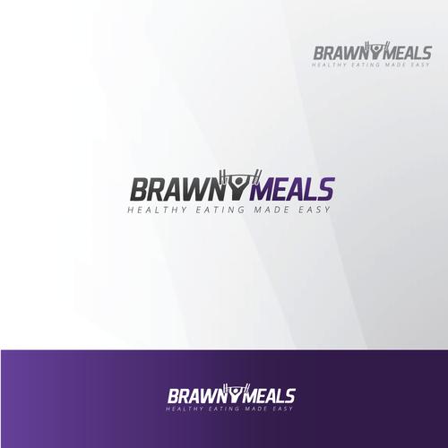 Logo concept for Brawny Meals