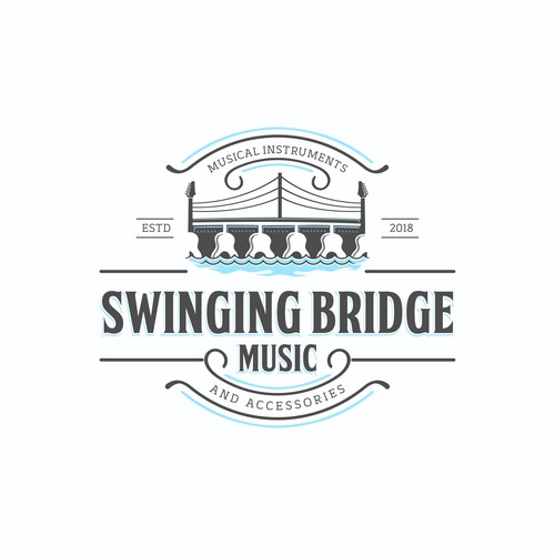 swinging bridge music
