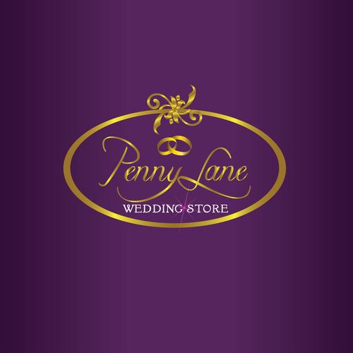 Pennylane Wedding Store Logo