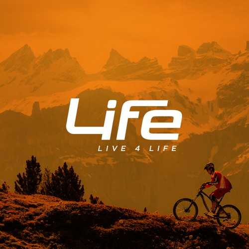 Create a Logo and Website for my new brand 4Life Wear! An active lifestyle brand