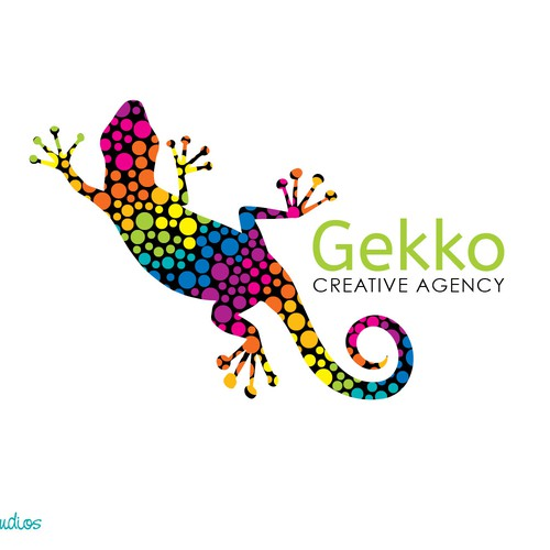 Create a fun logo concept for Gekko Creative Agency
