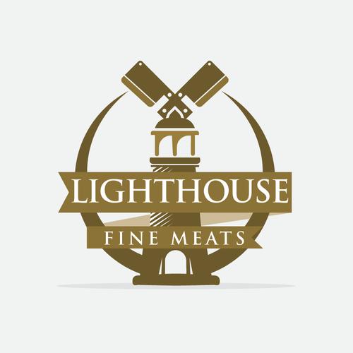 Strong lighthouse emblem!