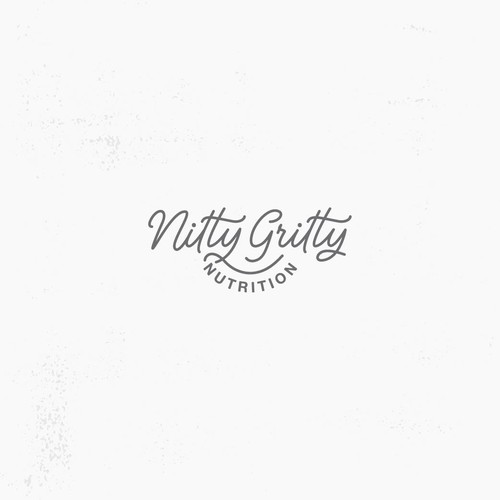 Nitty Gritty handlettered logo