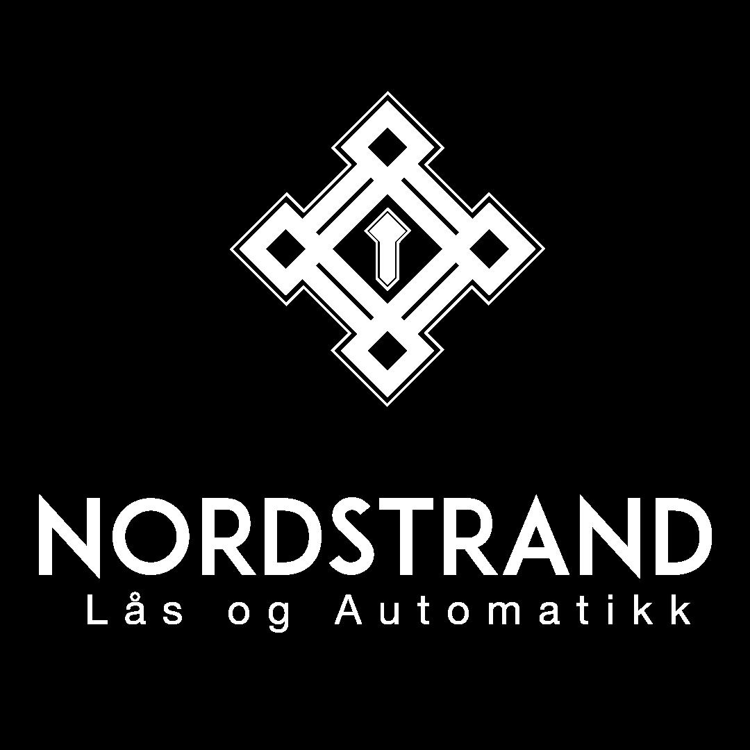 Logo for a small, Norwegian locksmith company