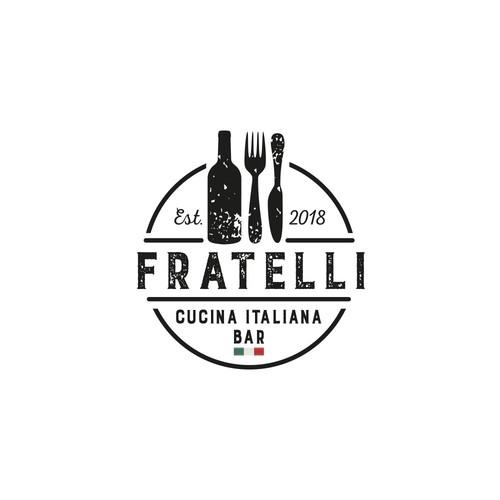 Logo für ein italienisches Restaurant