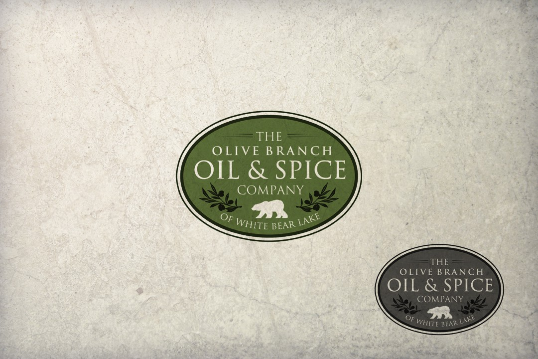 logo for The Olive Branch Oil & Spice Company