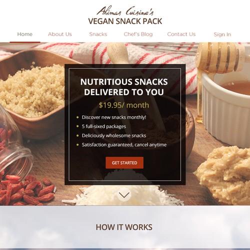 Vegan Snack Site