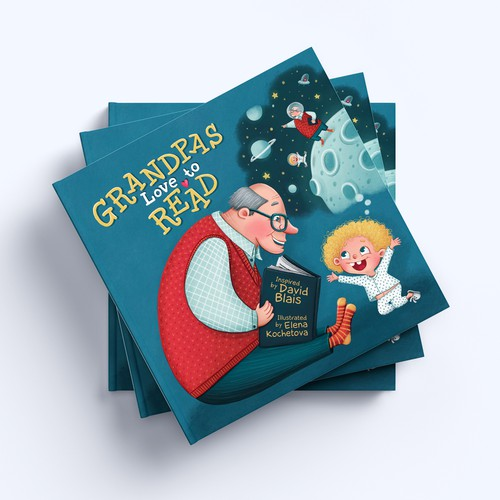 Children's illustrated book about grandfathers.